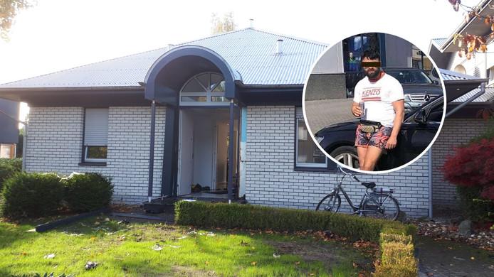 Bij een grote politieactie in deze woning in Gronau werd Abbas uit Zwolle als verdachte opgepakt. Zijn broer Idris (foto) werd in Zwolle aangehouden.