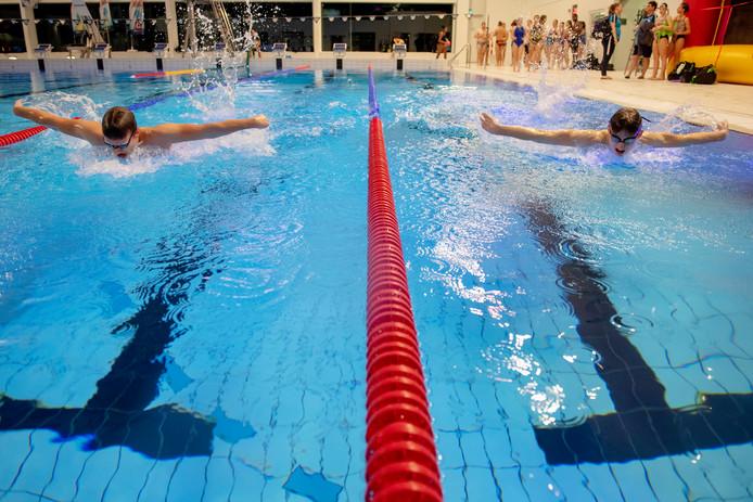 Beekse Bergen Zwembad.Nk Zwemmen In De Drieburcht Het Zwembad Is Anders Je Voelt Je
