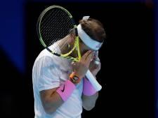 Nadal leeft nog op ATP Finals na comeback tegen Medvedev
