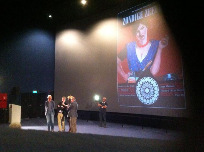 Het boek Zondige Zeeuwen werd zaterdag tijdens het festival Film by the Sea in Vlissingen gepresenteerd.