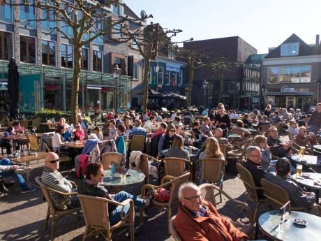 Extra ruimte voor terrassen in Kampen