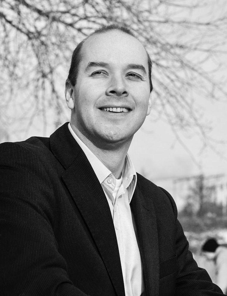 Tjakko Dijk, gemeenteraadslid VVD Beeld -