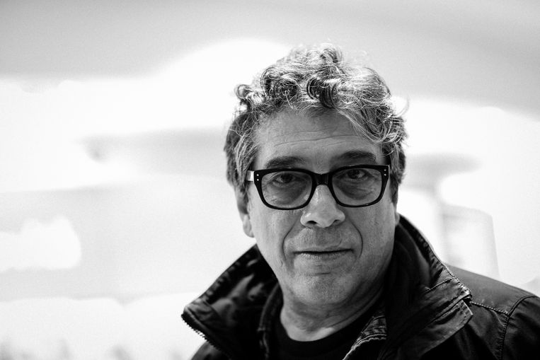 ROME, ITALY - FEBRUARY 20: (EDITORS NOTE: This image has been converted in black and white) Italian writer Sandro Veronesi attends