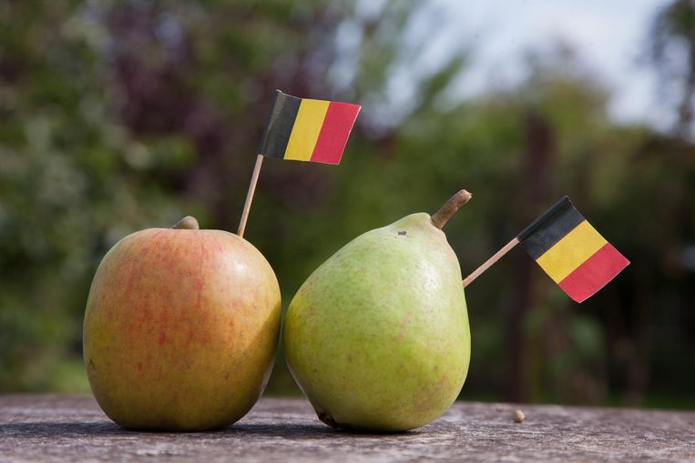 Appelen en peren van België.
