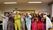 Pyjamadag op OLVI: klasgenoten steken 'Superdries' hart onder de riem