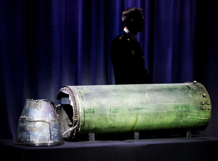 Een buk-raket. Het kabinet trekt jaarlijks 9 miljoen uit voor de berechting van de MH17-daders.