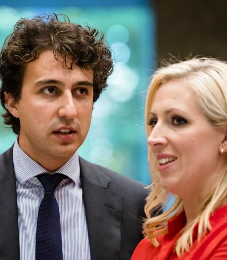 Links reclameblok vóór debat Rutte-Baudet: 'Schijndebat tussen elitaire corpsballen'