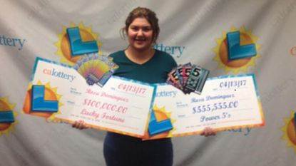 Rosa (19) wint twee keer de loterij in één week