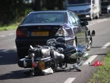 Motorrijder raakt gewond bij ongeluk in Alphen