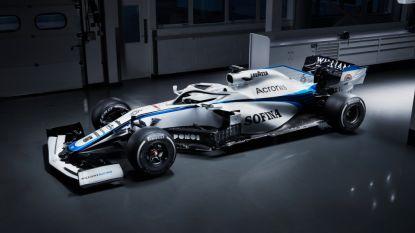 F1-renstal Williams grijpt terug naar oude kleuren