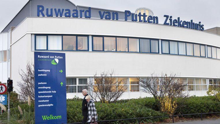 Het Ruwaard van Putten ziekenhuis in Spijkenisse Beeld ANP