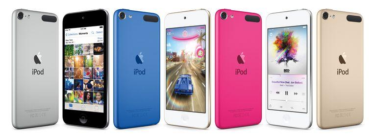 De nieuwe iPod Touch. Beeld ap