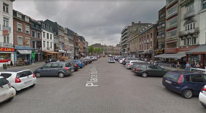 Capture d'écran: place du Martyr à Verviers