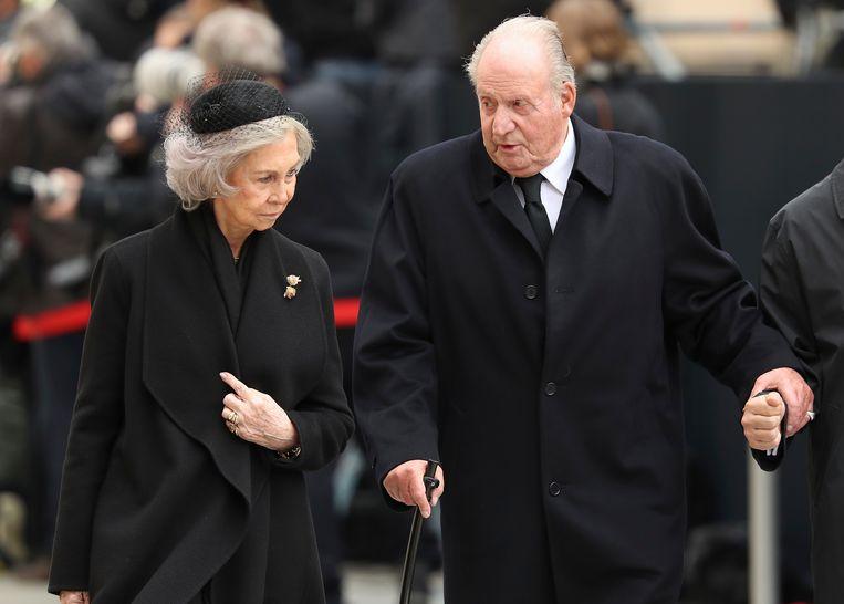 De Spaanse koning-emeritus Juan Carlos op archiefbeeld