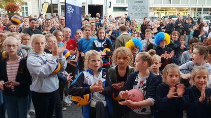 Sporters marcheren voor nieuwe thuisbasis