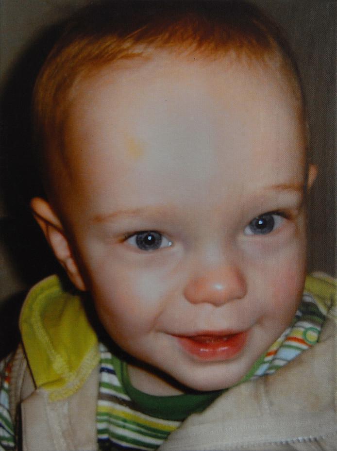 Danilo toen hij een jaar was.