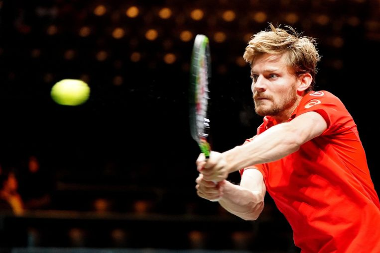 Goffin begin februari in actie in Rotterdam.        © Orange Pictures / Photo News ! only BELGIUM !