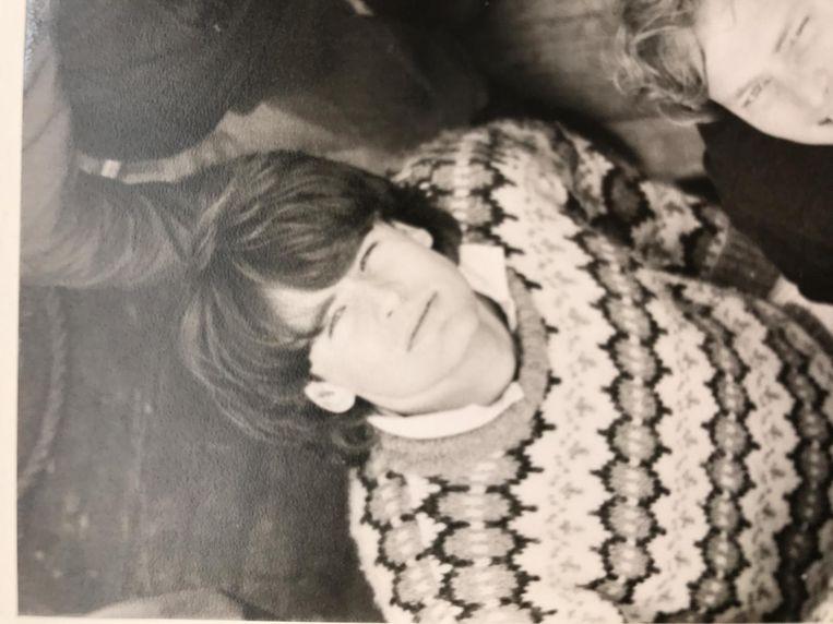 Smit in 1982, tijdens zijn studententijd in Groningen Beeld