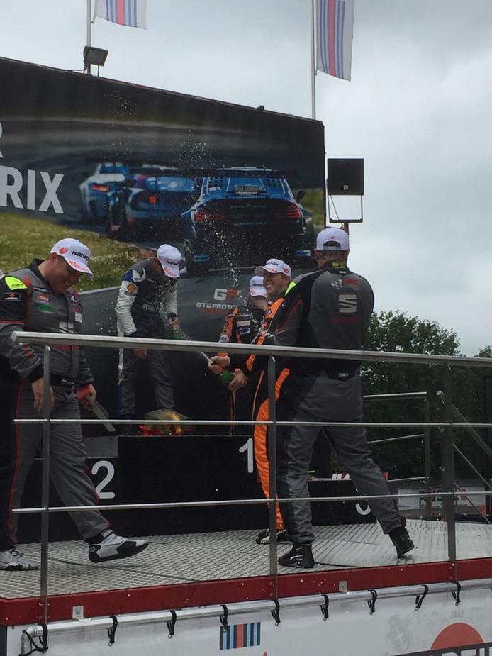 BS Racing team eindigt als derde in België