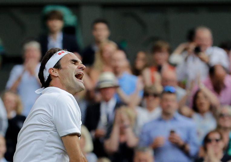 Roger Federer Beeld AP