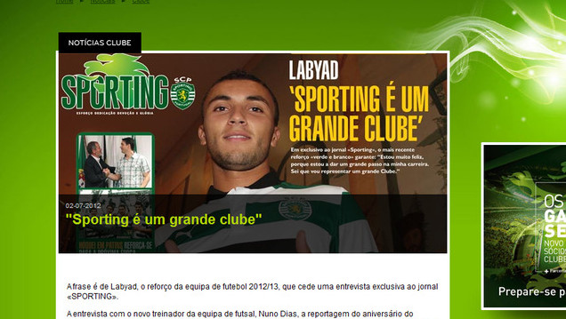 Labyad: Sporting is een grote club.