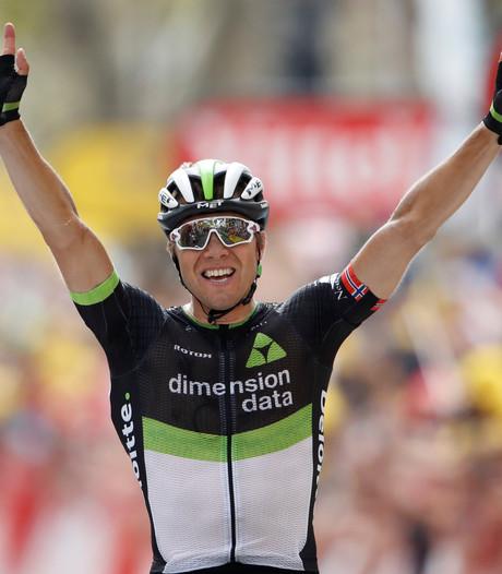 Boasson Hagen wint langste etappe na knap nummertje