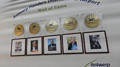 Ook Berendrechtenaar op Wall of Fame in luchthaven van Antwerpen