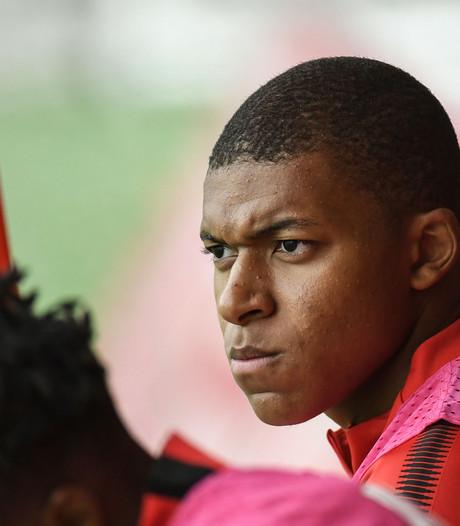 'Monaco zette Mbappé na incident op training uit selectie'