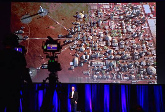 Elon Musk vertelt over zijn droom om Mars te koloniseren.