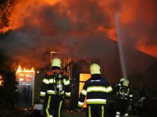 Loods in Schaijk gaat verloren bij brand