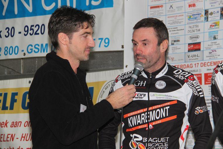 In december stelde Serge Baguet nog zijn nieuwe wielerploeg voor op de cross van de Morelgemvrienden.