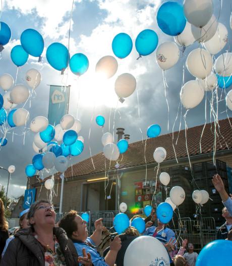 Ballonnen niet meer welkom boven Schouwen-Duiveland