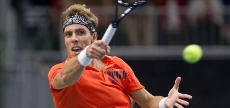Nederlands kampioen Griekspoor stopt met tennissen