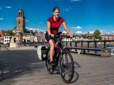 Fietsblogger Mirre (33) trapt 'van hoogtepunt naar hoogtepunt' langs Hanzesteden