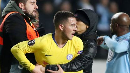 Hazard minimaliseert incident met veldbestormer in Malmö, maar UEFA stelt onderzoek in