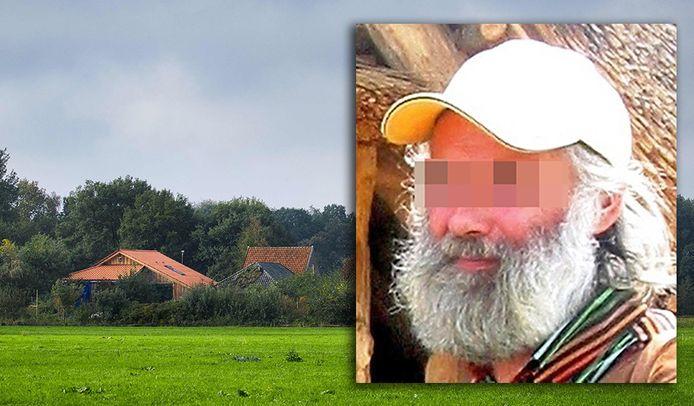 L'homme de 67 ans a été retrouvé avec six enfants adultes dans une ferme à Ruinerwold, aux Pays-Bas.