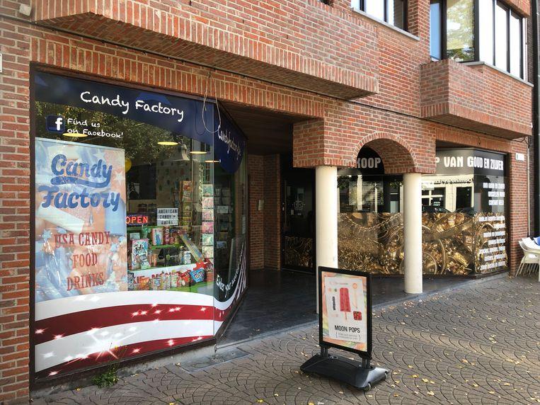 Candy Factory op het Zegeplein.