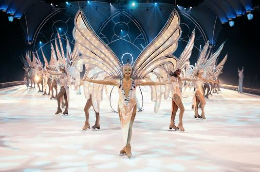 Show van Holiday on Ice in Duitsland.