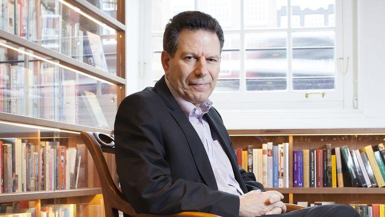 De Amerikaanse journalist en schrijver Robert Kaplan Beeld Maartje Geels