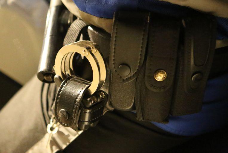 Politie kon twee verdachten onderscheppen.  Beide verdachten werden aangehouden.