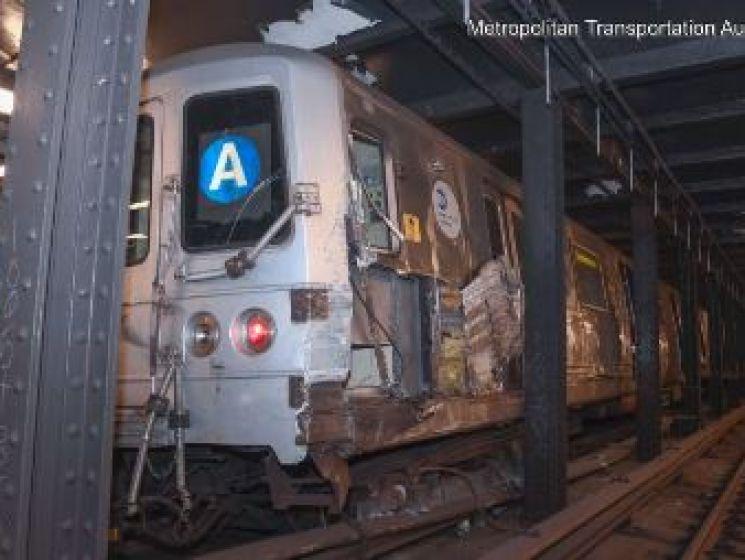 Un sans-abri fait dérailler un métro à Manhattan