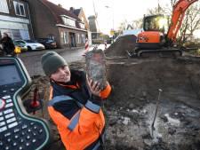 Delen oude vestingmuren gevonden bij opgravingen IJsselstein