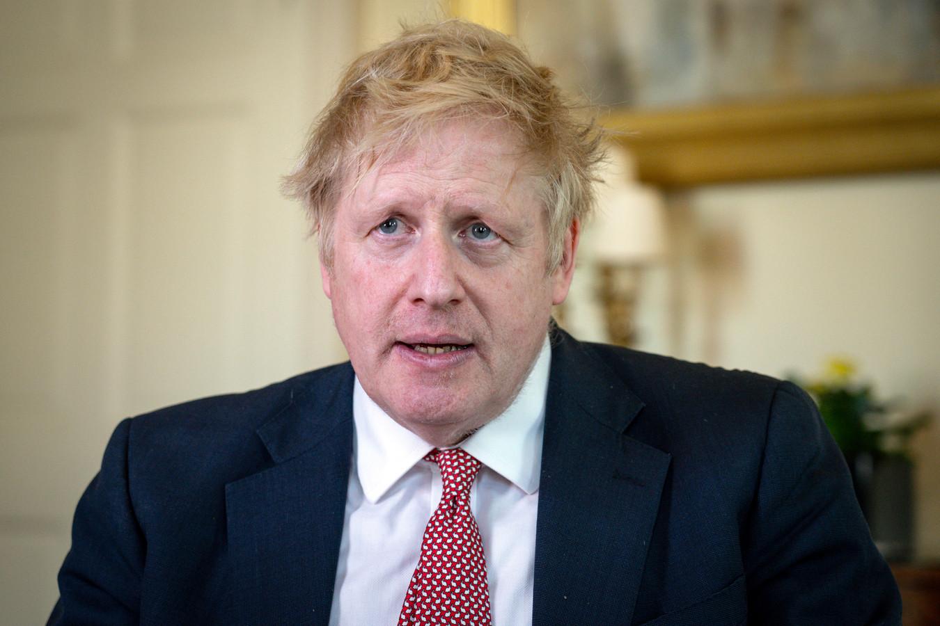 Brits premier Boris Johnson postte een video op Twitter waarin hij de gezondheidsdienst NHS uitgebreid bedankte.
