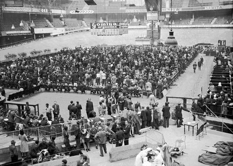Beeld uit Velodrome d'Hiver, 1944. Beeld afp