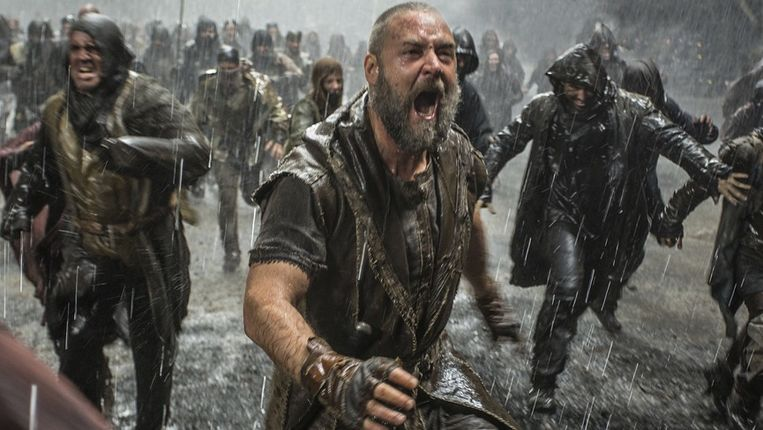 Fragment uit Noah, met acteur Russel Crowe als Noach. Beeld Paramount Pictures