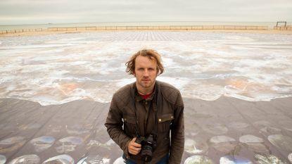 Na 'krabfoto' van 3.000 m² verovert kunstenaar nu Knokke-Heist met bloemen en bijtjes