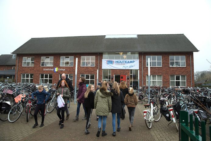 Nu nog Graafschap College, straks Houtkamp College.