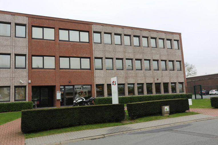 De zetel van G4S Cash Solutions in de Stationsstraat in Groot-Bijgaarden.