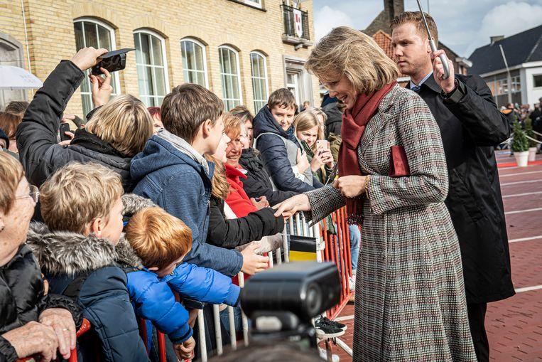 Voor een selfie met de koningin heb je niet elke dag de kans