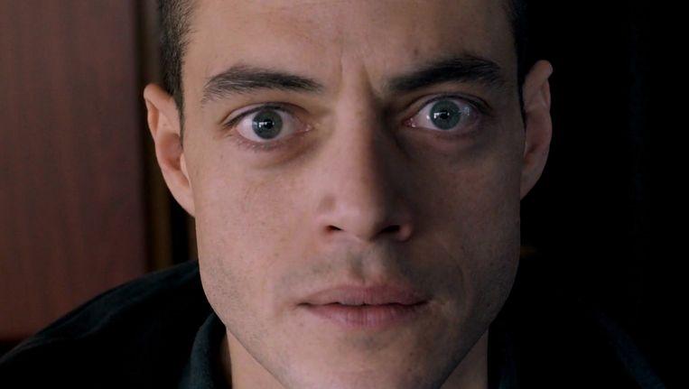 Rami Malek als Elliot in Mr. Robot. Beeld